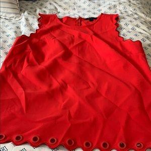 Jcrew red tank top